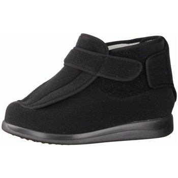Schuhe Herren Hausschuhe Liromed 478-Z1 Schwarz - Verbandschuhe, Schwarz schwarz
