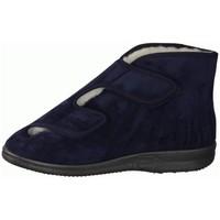 Schuhe Herren Hausschuhe Liromed 477-3086 Marine () - Verbandschuhe, Blau blau