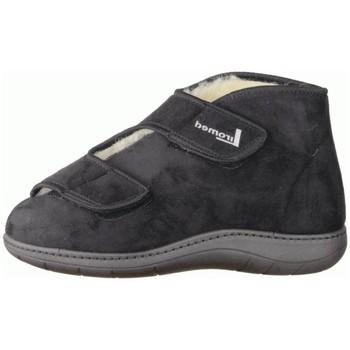Schuhe Herren Hausschuhe Liromed 477-3085 Schwarz - Verbandschuhe, Schwarz schwarz