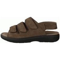 Schuhe Herren Sandalen / Sandaletten Slowlies Offene 230 Mocca () - Sandale - , Braun, leder (nubuk) braun