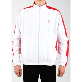 Kleidung Herren Trainingsjacken K-Swiss Lifestyle Jacke  Accomplish Jacket 100250-119 weiß, rot