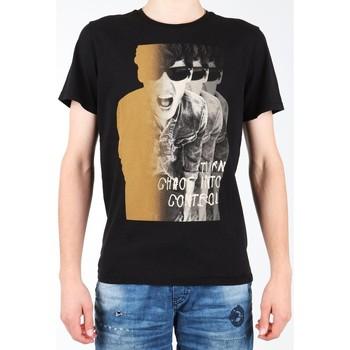 Kleidung Herren T-Shirts Lee T-Shirt  Photo Tee Black L60BAI01 schwarz