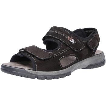 Schuhe Herren Sportliche Sandalen Waldläufer Harald, Herren Sandale schwarz