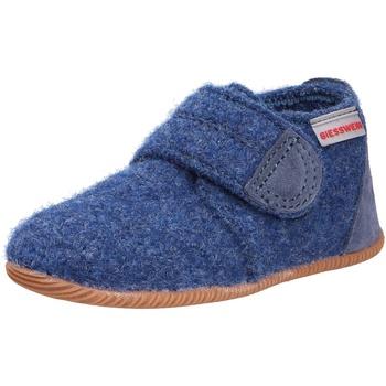 Schuhe Kinder Hausschuhe Giesswein Oberstaufen blau