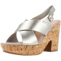 Schuhe Damen Sandalen / Sandaletten Chika 10 BACHATA Silber
