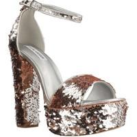 Schuhe Damen Sandalen / Sandaletten Steve Madden GONZO1 Silber