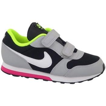 Schuhe Kinder Laufschuhe Nike MD Runner 2 TD Seladongrün,Schwarz,Grau