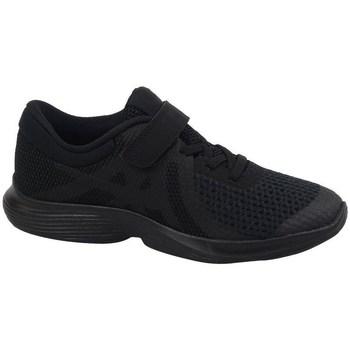 Schuhe Kinder Sneaker Low Nike Revolution 4 PS Schwarz
