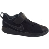 Schuhe Kinder Sneaker Low Nike Team Hustle Quick 2 PS Schwarz