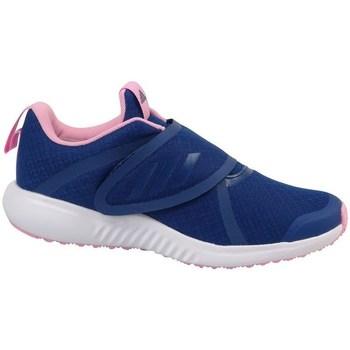 Schuhe Mädchen Laufschuhe adidas Originals Fortarun X CF K Gelb, Dunkelblau