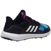 Schuhe Kinder Laufschuhe adidas Originals Rapidarun X K Schwarz