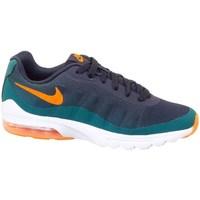 Schuhe Kinder Sneaker Low Nike Air Max Invigor Print GS Graphit,Grün