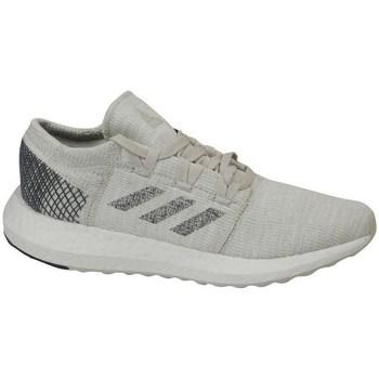 Schuhe Kinder Laufschuhe adidas Originals Pureboost GO J Grau