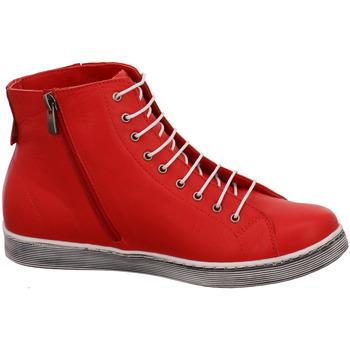 Andrea Conti Stiefeletten 0027913-021 rot - Schuhe Sneaker High Damen 8995