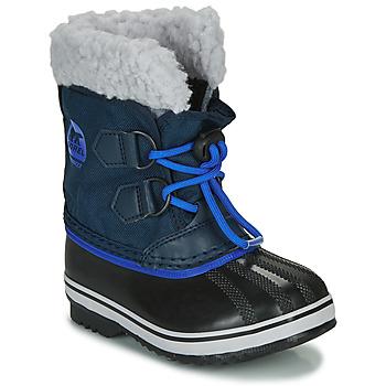 Schuhe Kinder Schneestiefel Sorel CHILDRENS YOOT PAC NYLON Blau