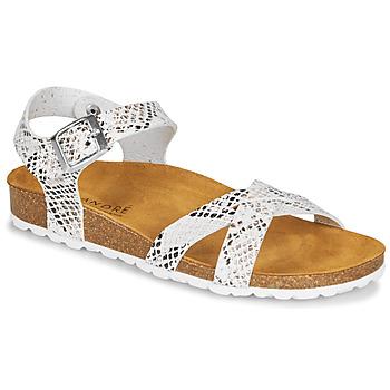 Schuhe Damen Sandalen / Sandaletten André REFLEXE Weiss