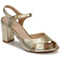 Schuhe Damen Sandalen / Sandaletten André JESS Gold