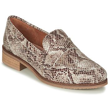 Schuhe Damen Slipper André BABOUA Beige