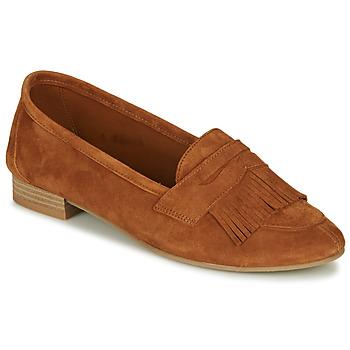 Schuhe Damen Slipper André BARCELONA Camel