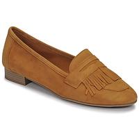 Schuhe Damen Slipper André BARCELONA Gelb