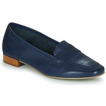 Schuhe Damen Slipper André NAMOURS Marine
