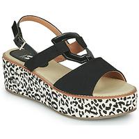Schuhe Damen Sandalen / Sandaletten Vanessa Wu MIGLOS Schwarz