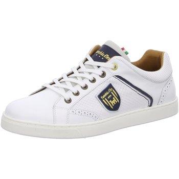 Schuhe Herren Sneaker Low Pantofola D` Oro Schnuerschuhe Mercato 10201013.1FG weiß