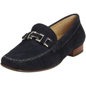 Schuhe Damen Slipper Sioux Slipper cambria 63141 blau