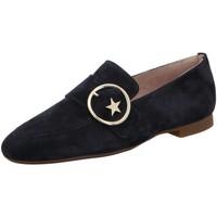 Schuhe Damen Slipper Paul Green Slipper 2570-026 blau