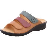 Schuhe Damen Pantoletten / Clogs Ganter Pantoletten Pantolette HERA 205801-2699 braun