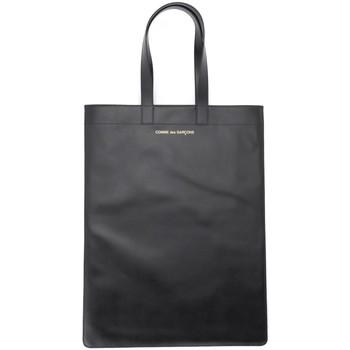 Taschen Damen Shopper / Einkaufstasche Comme Des Garcons Comme Des Garçons Shopper in Leder Schwarz Schwarz