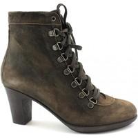 Schuhe Damen Low Boots Lion LIO-OUT-10302 Marrone