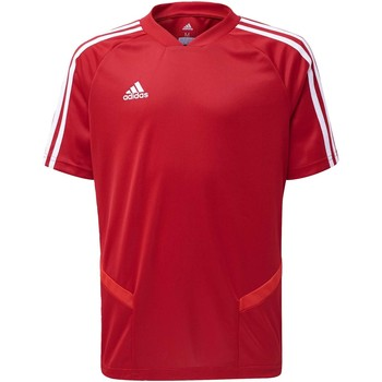 Kleidung Kinder T-Shirts & Poloshirts adidas Originals Tiro 19 Trainingstrikot Rot