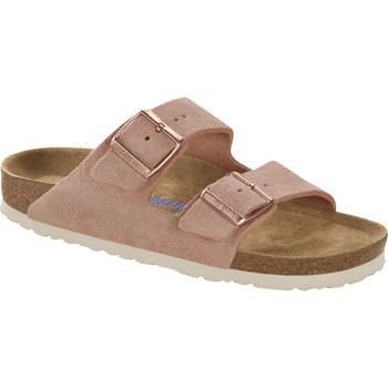 Schuhe Pantoffel Birkenstock & Co.kg Birkenstock Pantolette Arizona light rose 1015892 Other