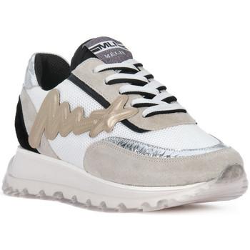 Schuhe Herren Sneaker Low At Go GO MOON ARGENTO 560 Grigio