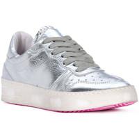 Schuhe Herren Sneaker Low At Go GO MOON ARGENTO Grigio