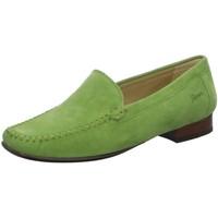 Schuhe Damen Slipper Sioux Slipper Campina 63125 grün
