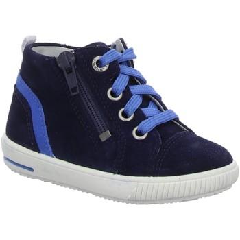 Schuhe Jungen Babyschuhe Superfit Schnuerschuhe MOPPY 0-609354-8000 8000 blau