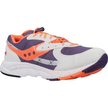 Schuhe Herren Sneaker Low Saucony LIFESTYLE Violett