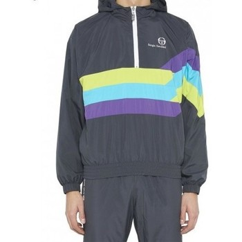 Kleidung Herren Trainingsjacken Sergio Tacchini Veste  windbreaker noir/multi-couleur