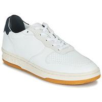 Schuhe Sneaker Low Claé MALONE Weiss / Blau