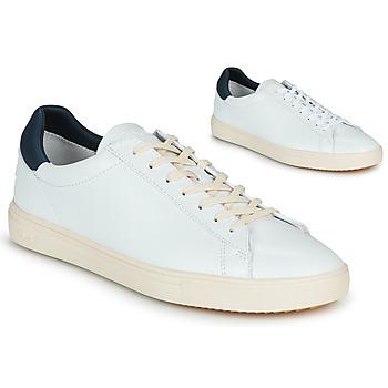 Schuhe Sneaker Low Claé BRADLEY Weiss / Blau