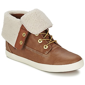 Schuhe Damen Boots Timberland GLASTENBURY FLEECE FOLD DOWN