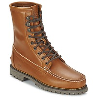 Schuhe Herren Boots Timberland AUTHENTICS 8 IN RUGGED HANDSEWN Erde / Dream Graphit