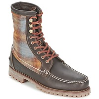 Schuhe Herren Boots Timberland AUTHENTICS 8 IN RUGGED HANDSEWN F/L BOOT Braun