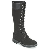 Schuhe Damen Klassische Stiefel Timberland WOMEN'S PREMIUM 14IN WP BOOT Schwarz