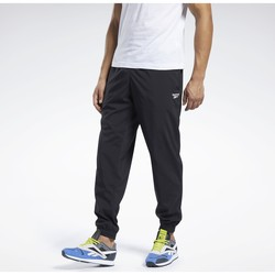 Kleidung Herren Jogginghosen Reebok Sport Training Essentials Woven Cuffed Pants Noir