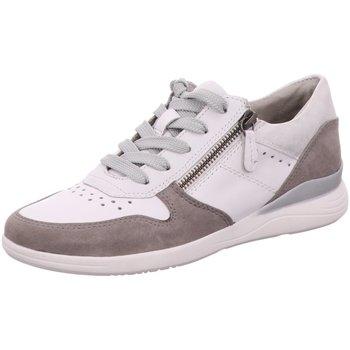 Schuhe Damen Sneaker Low Jana Schnuerschuhe 100% C 88 23751 24 341 weiß