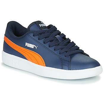 Schuhe Kinder Sneaker Low Puma SMASH JR ME Marine