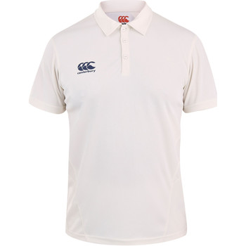 Kleidung Kinder Polohemden Canterbury CN155B Creme